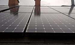 Mise en place de 42 panneaux photovoltaïques 2