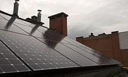 Mise en place de 42 panneaux photovoltaïques 3